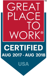 Great Place to Work Certified August 2017 - August 2018