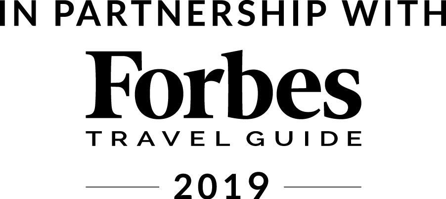 In Partnership with Forbes Travel Guide 2019